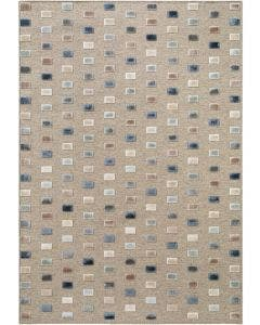 Alfombra North Multicolor/Beige
